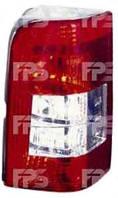 Фонарь задний для Citroen Berlingo '97-02 правый (DEPO) 1 дверь, белая вставка