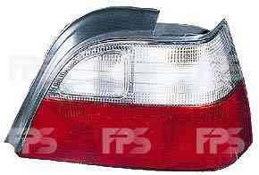 Фонарь задний для Daewoo Nexia '95-08 левый (FPS) бело-матовая вставка
