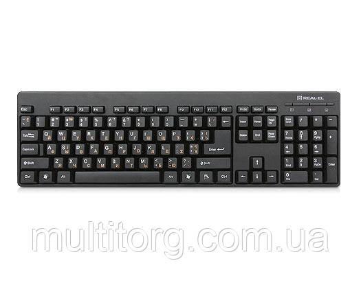 Клавиатура REAL-EL Standard 502 USB черная