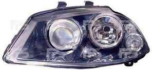 Фара передняя для Seat Ibiza '02-08 левая (DEPO) под электрокорректор
