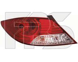 Фонарь задний для Hyundai Accent (Solaris) седан '11- левый (DEPO)