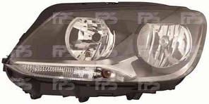 Фара передняя для Volkswagen Caddy '11- левая (DEPO) под электрокорректор