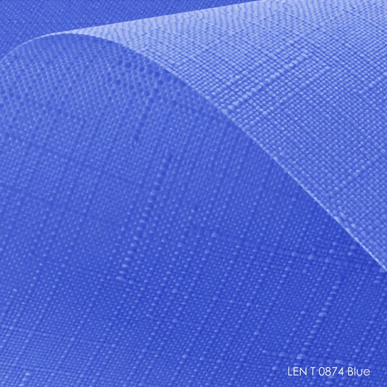 Тканевые ролеты Len T-0874 blue