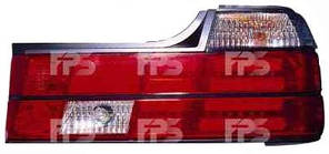 Фонари задние для BMW7 E32 '87-94 комплект (DEPO) красно-белые, технология Led