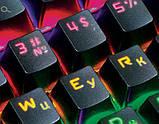 Клавиатура REAL-EL M47 RGB USB механическая игровая с подсветкой, фото 3