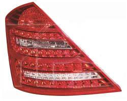 Фонарь задний для Mercedes S-Class W221 '09-13 левый (DEPO) LED