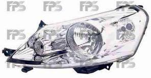 Фара передняя для Citroen Jumpy '07- правая (DEPO) под электрокорректор