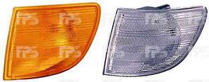 Указатель поворота Mercedes Vito '96-03 левый, желтый (DEPO)