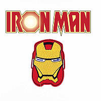 Нашивка на одежду Железный человек / Iron Man