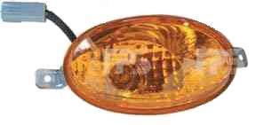 Указатель поворота в бампере Chery QQ3 S11 '03- левый (FPS)