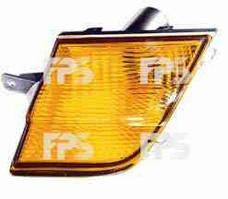 Указатель поворота Nissan Micra '03-10 левый, желтый (DEPO)
