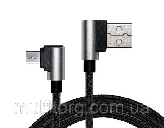 Кабель REAL-EL USB 2.0 Premium AM-microUSB type B 1m черный