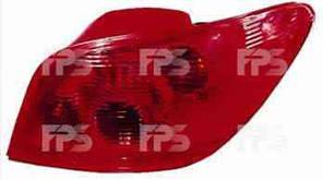 Фонарь задний для Peugeot 307 хетчбек '01-05 правый (DEPO)