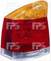 Фонарь задний для Opel Vectra C '02-05 левый (DEPO) желто-красный