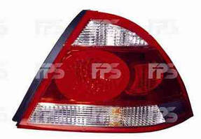 Фонарь задний для Nissan Almera Classic '06- левый (DEPO)