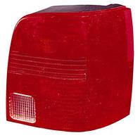 Фонарь задний для Volkswagen Passat B5 универсал '97-05 левый (DEPO) красный задний ход