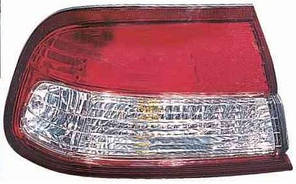 Фонарь задний для Nissan Maxima A32 '95-00 левый (DEPO) внешний, красно-белый