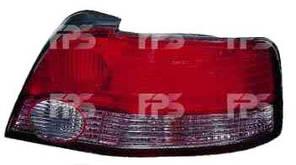 Фонарь задний для Mitsubishi Galant седан '99-01 правый (DEPO) дымчатая вставка