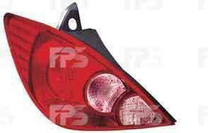 Фонарь задний для Nissan Tiida хетчбек '05- правый (DEPO) европейская версия