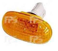 Указатель поворота на крыле Chery QQ3 S11 '03- левый/правый, желтый (FPS)