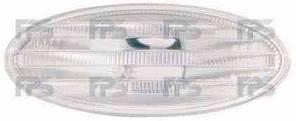 Указатель поворота на крыле Nissan Qashqai '06-14 левый/правый, белый (DEPO)