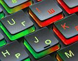 Клавиатура REAL-EL Comfort 7070 Backlit черная уценка, фото 3