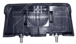 Фонарь подсветки номера Fiat Ducato/Citroen C25/Peugeot J5 -94