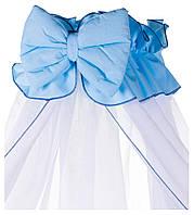 Детская постель Qvatro Ellite AE-08 аппликация  голубой (мордочка мишки штопанная)