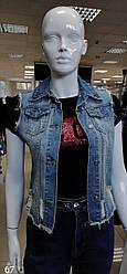 Пиджак джинсовый женский Vineme West Wcod, Светло-синий, S