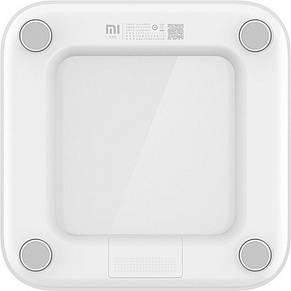 Умные весы Xiaomi Mi Smart Scale 2 White 510941, smart весы Ксиоми напольные, смарт весы с диагностикой, фото 2