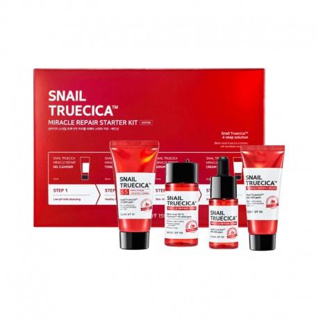 Набор косметики Some By Mi Snail Truecica Miracle Repair Starter Kit Миниатюры 4 ед
