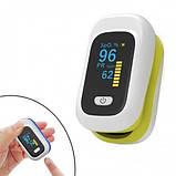 Пульсоксиметр, пульсовой оксиметр на палец OYK-80C. Измеритель кислорода в крови., фото 2