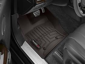 Ковры резиновые WeatherTech Range Rover  2013+ передние какао