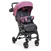 Прогулочная детская коляска-книжка EL CAMINO ME 1039 IDEA Plum фиолетовый от 6-ти месяцев до 3-х лет