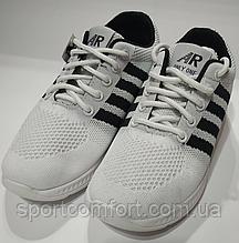 Кроссовки белые сетка
