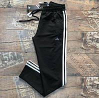 Мужские спортивные штаны Adidas черный. Чоловічі спортивні штани Adidas чорний.