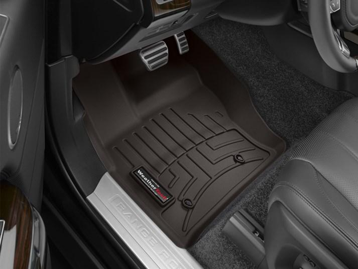 Ковры резиновые WeatherTech Range Rover Discovery 2017+ передние какао
