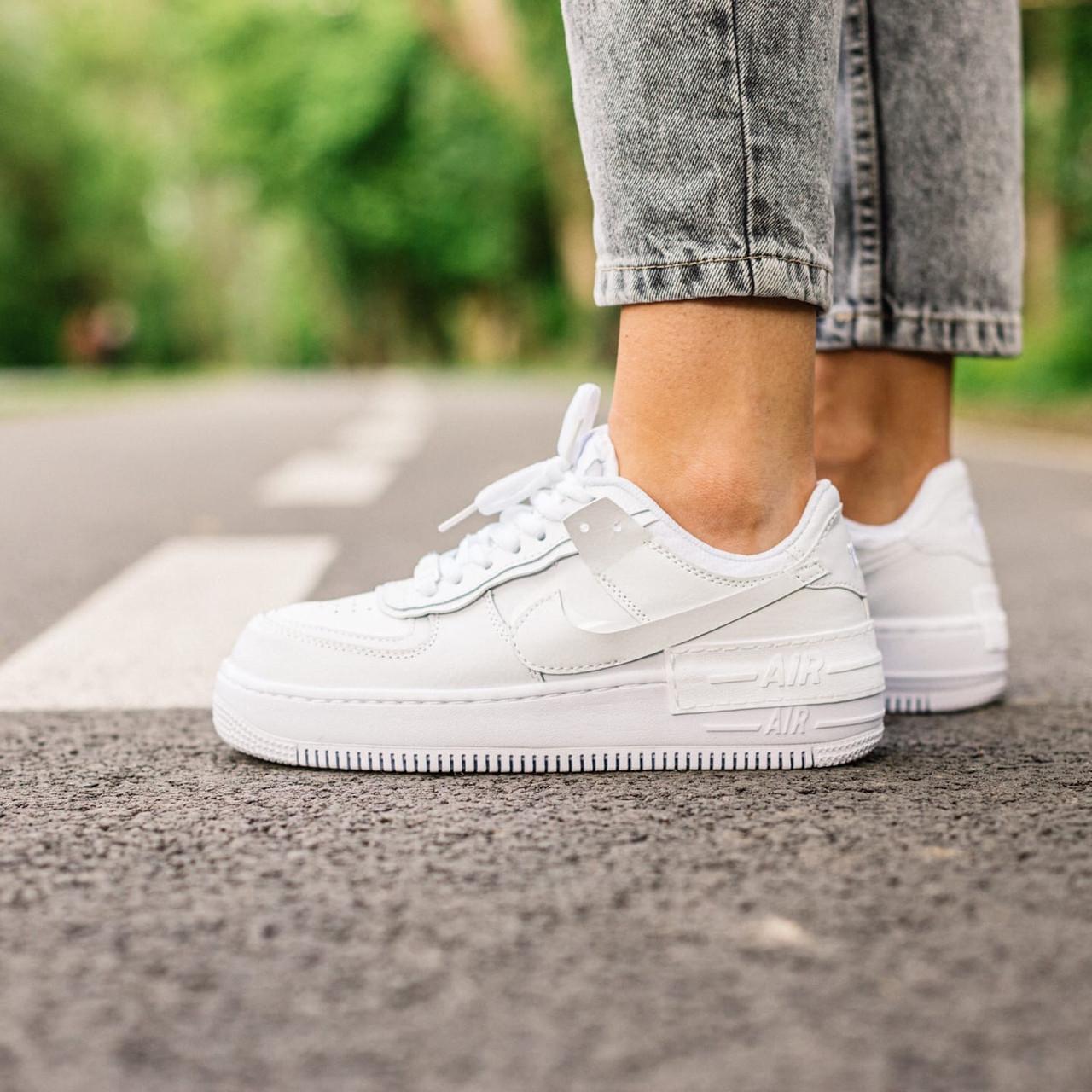 Жіночі кросівки Nike Air Force Shadow , Репліка