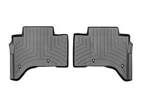 Ковры резиновые WeatherTech Range Rover  2013-2018 задние черные ( с консолью )