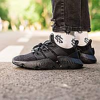 Чоловічі кросівки Adidas Prophere All Black, Репліка, фото 1