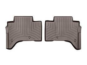 Ковры резиновые WeatherTech Range Rover  2013-2018 задние какао ( с консолью )