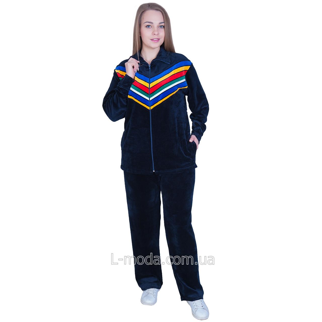 Спортивный костюм женский велюровый 0RR-5391