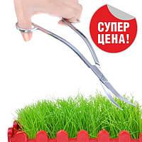 Ножницы для стрижки подстригания аквариумных растений изогнутые, прямые 250мм