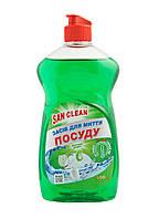 Средство для мытья посуды с ароматом Яблоко 500мл - Сан Клин