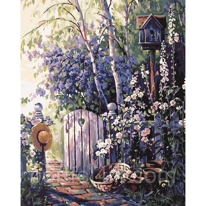 Картина по номерам на холсте Назад в детство (КНО2261) 40х50 ТМ Идейка