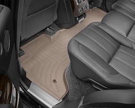 Ковры резиновые WeatherTech Range Rover  2013-2018 задний бежевый ( без консоли )