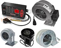 Автоматика POLSTER C-11 + вентилятор для котла (дополнительно комплект на выбор), фото 1