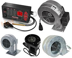 Автоматика POLSTER C-11 + вентилятор для котла (дополнительно комплект на выбор)