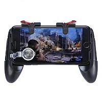 Геймпад с ручками курки PGT-2 триггеры D9 с джойстиком GP-3 Union PUBG Mobile Call Of Duty Fortnite StandOFF 2