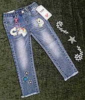 Стильні джинси на дівчинку 1-5 років